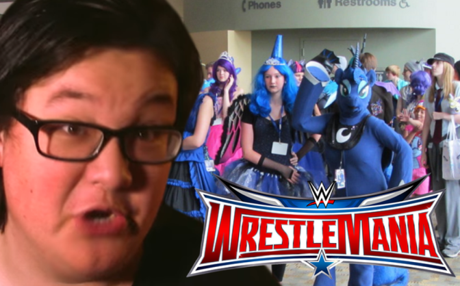 Will Pres. Chinkus fight the entire Brony fandom at 'Wrestlemania 32'?