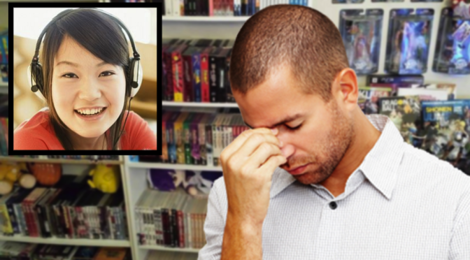 Anime fan disappointed after date with Japanese Girl