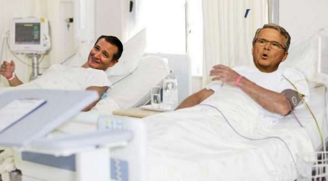 Cruz, Bush share room in psychiatric hospital