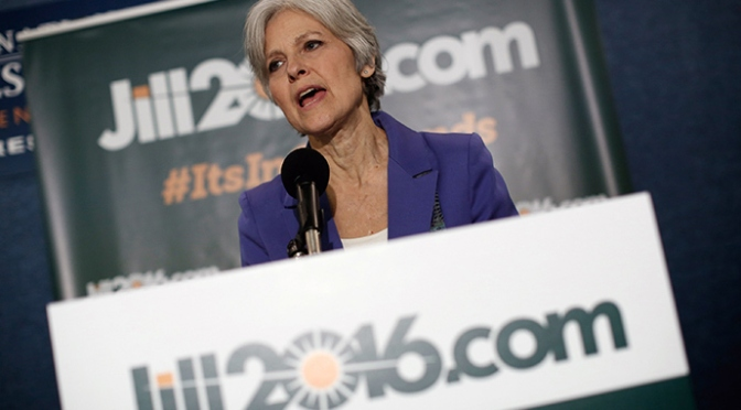 'Jill Stein can win!' says most optimistic man on the planet