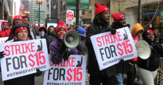 Fast food employees demand wage hike after believing prank call
